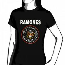 OFFICIAL Ramones - Classic Eagle Logo women's T-shirt NEW LICENSED Band Merch Al