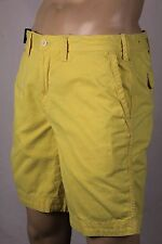 Polo Ralph Lauren Yellow Relaxed Fit Shorts Pony NWT