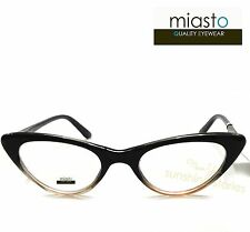 "NWT$39.99 MIASTO ""LA PETITE"" RETRO CAT EYE READER READING GLASSES +1.00 ~ +3.25"