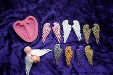 ANGEL WINGS XL silicone MOULD mold fondant sugarpaste chocolate EASY - OUT