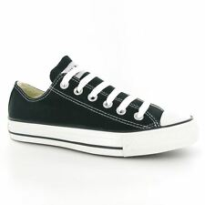 Converse All Star Ox Black Mens Trainers