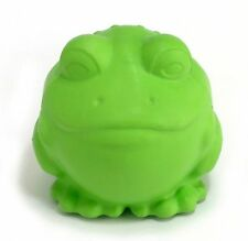 JW PET DARWIN THE FROG GREEN SMALL DOG TOY RUBBER UPICK COLOR FREE SHIP TO USA