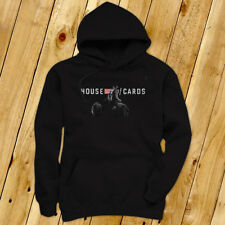 TV Show  House of Cards Mens Black Hoodie