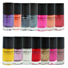Nail Polish Nail Art Gel Gloss Manicure Pedicure 13ml Bottle Colour Mint London