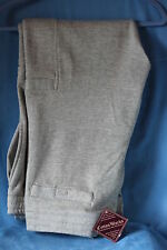 BIG & TALL MEN'S GRAY COTTON FLEECE HEAVYWEIGHT CARGO SWEATPANTS W/DRAWSTRING