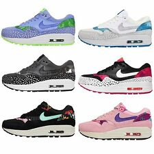 Womens Wmns Nike Air Max 1 Print Womens NSW Casual Running Shoes Trainers Pick 1