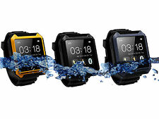 Waterproof Bluetooth Smart Watch Handsfree Call Music For iPhone 6 5C 5S Android