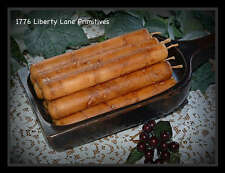 """6-6"""" PRIMITIVE GRUBBY GRUNGY THICK TAPER CANDLES 24-FRAGRANCES SCENT BOWL FILLER"""