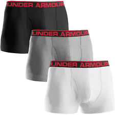 "Under Armour Mens Original 3"" Boxerjock Boxer Briefs Sports Underwear"