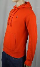 Polo Ralph Lauren Performance Orange Hoodie Sweatshirt NWT