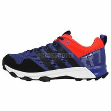 Adidas Kanadia 7 TR M Blue Red Black Mens Trail Running Shoes Sneakers