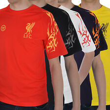 Official Liverpool Football Club Mens Warrior Short Sleeve Training Crew T Shirt