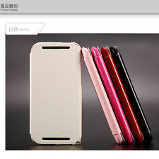 KLD ENLAND SERIES Ultra Thin PU Leather Flip Book Case Cover For HTC One 2 M8