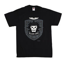 OFFICIAL Call Of Duty: Black Ops - Skull logo T-shirt NEW Licensed Band Merch AL