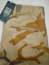 Dockers Alpha Collection Khaki Mens Camouflage Chino Pants Size 32, 34 New $68