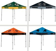 Choose NFL Team 10' x 10' Straight Leg Tailgate Canopy Tent Shelter by Coleman