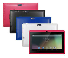 """7"""" Quad Core A33 Android 4.4 Kitkat Tablet Bluetooth Dual Camera Play Store"""