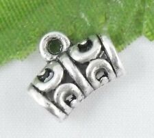 Wholesale 40/87Pcs Tibetan Silver  Spacer Beads 12x9mm(Lead-free)