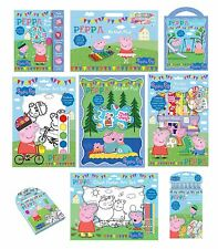 PEPPA PIG Sticker/Colour/Create/Kits/Sets/Kids/Gift/Pad/Play/Activity/George