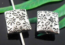 Wholesale 20/44Pcs Tibetan Silver  Spacer Beads 10x9x4mm(Lead-free)