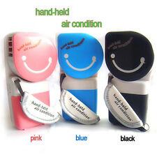 New USB Mini Portable Hand Held Air Conditioner Cooler Cooling Fan for Laptop PC