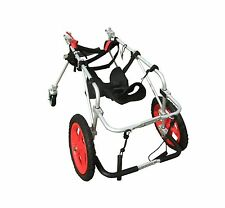 QUAD FULL SUPPORT FOUR 4 WHEEL BEST FRIEND MOBILITY DOG WHEELCHAIR CART