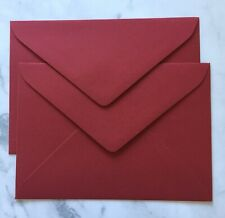 20 x C5 BURGUNDY Size Envelopes 120GSM Quality OR CHOOSE