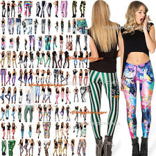 Women S-M,L-XL YOGA GYM Digital Print Stylish Skinny Galaxy Leggings Pants Jeans