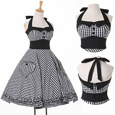 New Fashion Vintage Style Pinup Rockabilly 50's 1960s Swing Party Cocktail Dress