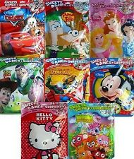 CHARACTER SURPRISE FILLED PARTY BAGS (20g/29g)(A4/Sweets/Toys)