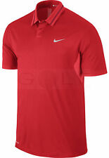NWT Nike Tiger Woods TW Ultra 3.0 Men's Golf Polo Shirt XL Action Red