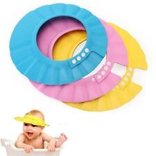 Safe Shampoo Shower Bathing Bath Protect Soft Cap Hat For Baby Children Stylish