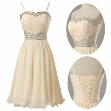 SUMMER Stock Short Ball Gown Cocktail Evening Prom Homecoming Party Grad Dresses