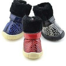 Puppy Small Dog Cat Winter Warm Snow Bootie Pet Waterproof Anti-slip Boots Shoes