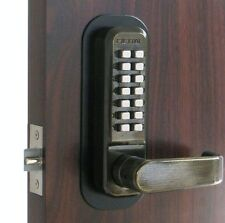 Lockey 2835 Mechanical Keyless Home Entry Door Lock AB Digital Keypad