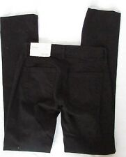 New Ann Taylor Loft modern straight leg black light weight stretch cotton jeans