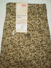 Levis Khaki Chino Mens Slim Fit Straight Camouflage Cargo 1 Pants New $68