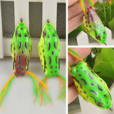 Cute Large Frog Topwater Fishing Lure Crankbait Hooks Bass Bait Tackle One CH