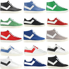Pony Mens Casual Lace Up Hi Low Top Assorted Trainers