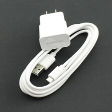OEM Samsung 2A Wall Travel Home Adapter + 6 Ft Micro USB Data Sync Charger Cable