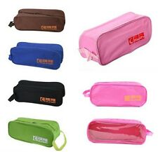 Portable Football Shoe Bag Boxing Boot Rugby Sports Gym Carry Case Storage Box W