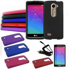 Phone Case For Straight Talk LG Power L22c Hard Cover Screen Guard Car Charger