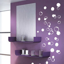 58 Bubbles Bathroom Window Shower Tile Wall Stickers, Wall Decals Car Decals
