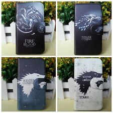 Game of Thrones Monster Dragon PU Leather Magnetic Flip Case Cover For LG Google