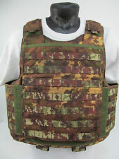 **COVER ONLY** Italian Vegetato Camo DPM Bullet Proof Vest Airsoft Paintball M28