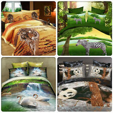 FOREST Queen/King Size Bed Quilt/Doona/Duvet Cover Pillowcases Set New