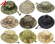 Airsoft Tactical Military Hunting Fishing Outdoor Ripstop Camo Boonie Hat Cap
