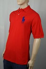 Ralph Lauren Red Classic Fit Big Blue Pony Polo NWT