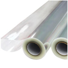 "40"" in X 100' ft Clear Cellophane Wrap Roll Gift Baskets Crafts 1.2mil US Seller"