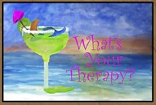 Therapy Mermaid Margarita Floormat  20 ounce loop style from Original Art